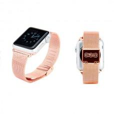 Ремешок стальной Coteetci W2 Pink 42mm для Apple Watch