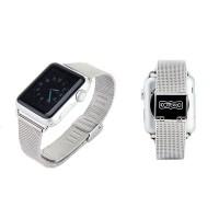 Ремешок стальной Coteetci W2 Silver 42mm для Apple Watch