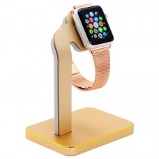 Докстанция Coteetci Base 4 Dock Stand Gold для Apple Watch