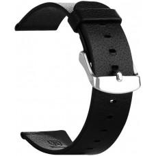 Ремешок кожаный Baseus iWatch Genuine Leather Strap Malibu Series 38mm Black для Apple Watch