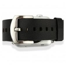 Ремешок кожаный Baseus iWatch Genuine Leather Strap Malibu Series 42mm Black для Apple Watch