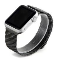 Ремешок стальной Coteetci W6 Black 38mm для Apple Watch