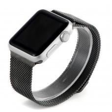 Ремешок стальной Coteetci W6 Black 42mm для Apple Watch