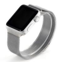 Ремешок стальной COTEETCI W6 Silver 38mm для Apple Watch