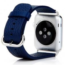 Ремешок кожаный COTEetCI W1 Dark Blue 42mm для Apple Watch