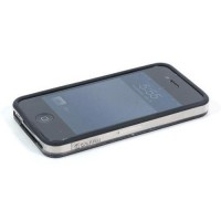 Бампер пластиковый  Griffin Reveal Frame Bumper BLACK для iPhone 4/4S