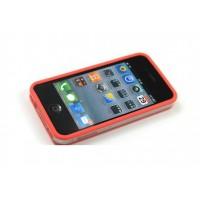 Бампер пластиковый Griffin Reveal Frame Bumper RED для iPhone 4/4S