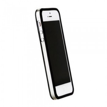 Бампер пластиковый Griffin Reveal Frame Bumper BLACK для iPhone 5/5S