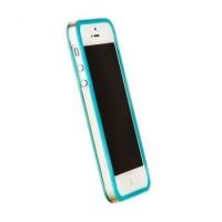 Бампер пластиковый Griffin Reveal Frame Bumper BLUE для iPhone 5/5S