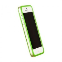 Бампер пластиковый Griffin Reveal Frame Bumper GREEN для iPhone 5/5S