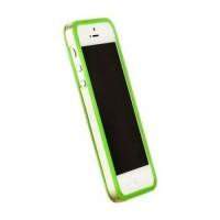 Бампер пластиковый Griffin Reveal Frame Bumper GREEN для iPhone 5/5S