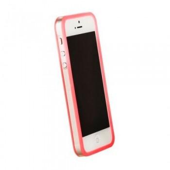 Бампер пластиковый Griffin Reveal Frame Bumper PINK для iPhone 5/5S