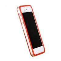 Бампер пластиковый Griffin Reveal Frame Bumper RED для iPhone 5/5S