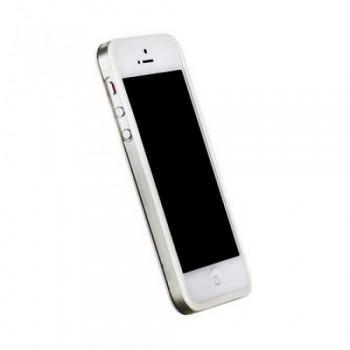 Бампер пластиковый Griffin Reveal Frame Bumper WHITE для iPhone 5/5S