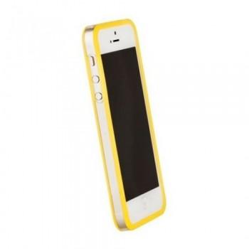 Бампер пластиковый Griffin Reveal Frame Bumper YELLOW для iPhone 5/5S