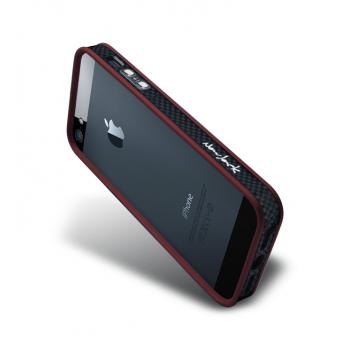Бампер металлический NavJack Trim Series Bumper CrimsonRedдля iPhone 5/5S