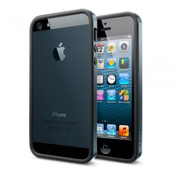 Бампер металлический SGP Case Neo Hybrid EX Slim Metal Series METAL SLATE для iPhone 5/5S