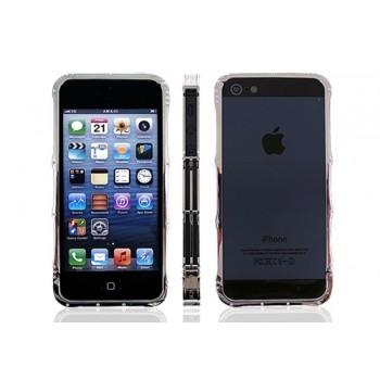 Бампер металлический iMatch Aluminium Bumper SILVER для iPhone 5