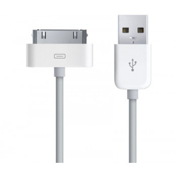 Кабель Dock Connector 30 pin to USB Cable White для Apple iPhone/iPad
