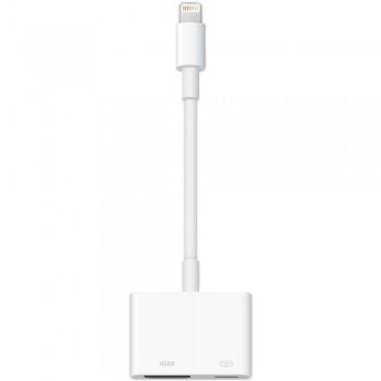Адаптер-переходник Apple Lightning to Digital AV Adapter Lightning - HDMI White для Apple iPhone/iPad/iPod
