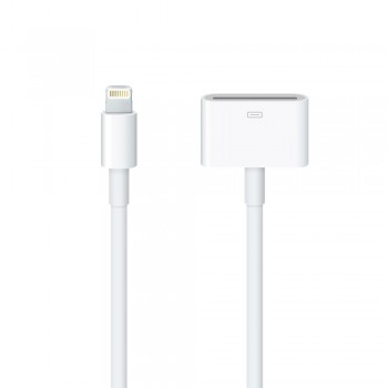 Кабель Apple Lightning to 30-pin Adapter Cable 0.2 m White для iPad/ iPhone/iPod