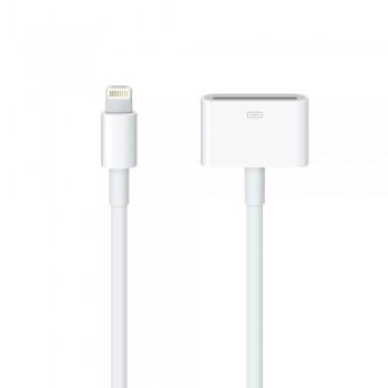 Кабель Apple Lightning to 30-pin Adapter Cable 0.2 m White для iPad/ iPhone/iPod