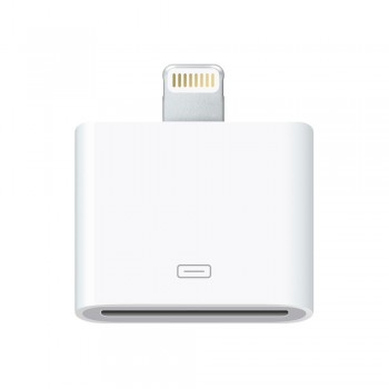 Адаптер-переходник Apple Lightning to 30-pin Adapter White для Apple iPhone/iPad/iPod