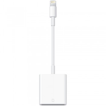 Адаптер-переходник Apple Lightning to SD Card Camera Reader White для iPhone/iPad