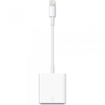 Адаптер-переходник Apple Lightning to SD Card Camera Reader White для iPhone/iPad