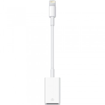 Адаптер-переходник Apple Lightning to USB Camera Adapter White для iPhone/iPad