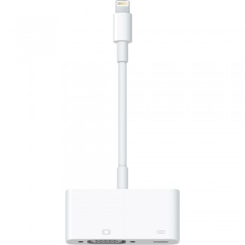 Переходник Apple Lightning to VGA Adapter MD825 White для iPhone/iPad
