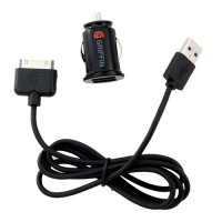 Автомобильная зарядка Griffin Power Jolt DUAL Micro 2.1 Amp Car Charger Black для iPad/iPhone/iPod