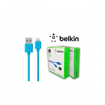 Кабель Belkin Lightning USB Cable Blue для iPhone/iPad