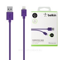 Кабель Belkin Lightning Cable Purple для iPhone/iPad