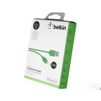 Кабель Belkin Lightning Cable Green для iPhone/iPad