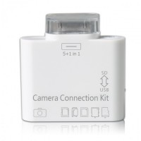 Переходник Apple Сamera Connection Kit 5 +1 White для iPad/ iPad 2/ iPad 3