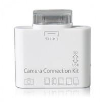 Адаптер-переходник Apple Сamera Connection Kit 5 +1 White для iPad/ iPad 2/ iPad 3
