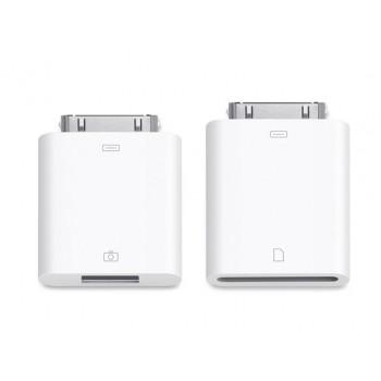 Переходник Apple Camera Connection Kit USB - 30 pin - SD Card Reader White для iPad