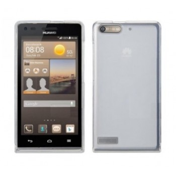 Чехол силиконовый полупрозрачный Silicone TPU Matte Gloss White для Huawei G6