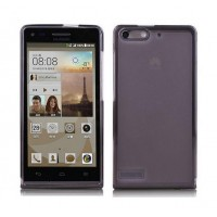 Чехол силиконовый Silicone TPU Matte Gloss Black для Huawei G6