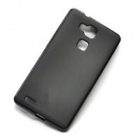 Чехол силиконовый Silicone TPU Matte Black для Huawei Mate 7/8