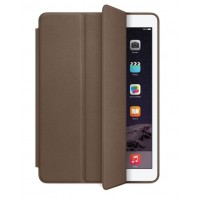 Чехол Apple Leather Smart Case Dark Brown для iPad Air 2