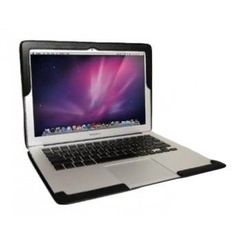 Чехол Viva Cuero Leather Case Essential Series Timeless Black для Macbook Air 13 inch