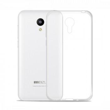 Чехол силиконовый прозрачный Silicone TPU Gloss Clear для Meizu M2 Note