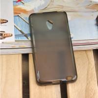 Чехол силиконовый Silicone TPU Matte Gloss Black для Meizu MX2