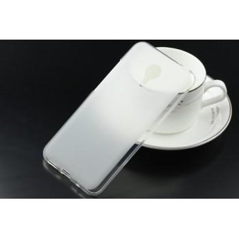 Чехол силиконовый полупрозрачный Silicone TPU Matte Gloss White для Meizu MX5