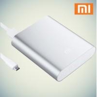 Внешний аккумулятор Xiaomi Mi Power Bank Silver 10400mAh для зарядки iPhone/iPad/Macbook/смартфонов/планшетов