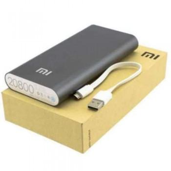 Внешний аккумулятор Xiaomi Mi Power Bank Black 20800mAh для зарядки iPhone/iPad/Macbook/смартфонов/планшетов