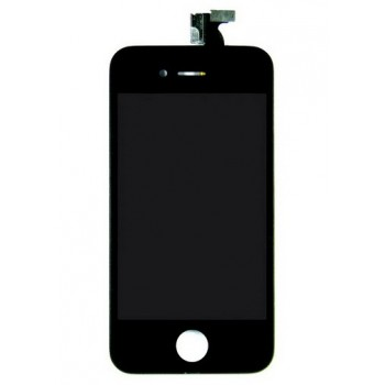 Модуль дисплейный LCD + touch Copy Black для iPhone 4S