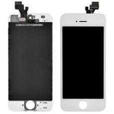 Модуль дисплейный LCD+touch Copy WHITE для iPhone 5